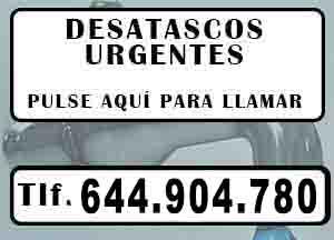 Desatascos economicos Villarrobledo Urgentes